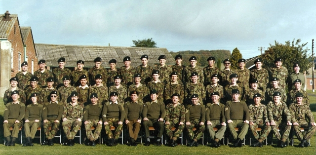 Photo of C Coy 6LI approx 1978/9