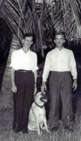 Family member & friend; circa 1954 - West Indies? tba