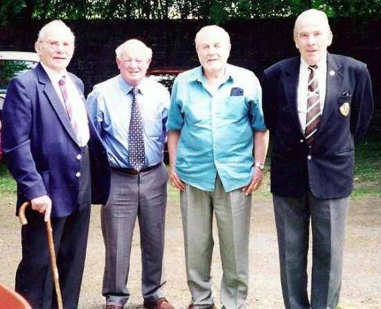 Reunion at Bodmin, Dutchy Holland, Bill Kellaway, John Madron, Alan Collins, also MMG Platoon