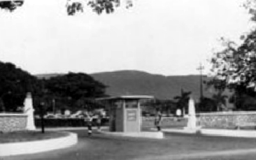 Up Park Camp, Kingston Jamaica 1954