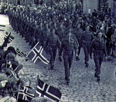 Victory Parade Norway 1945