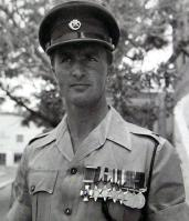 Major JA Marsh DSO.  Officer Commanding A Coy, 1DCLI Prospect Garrison Bermuda circa 1957