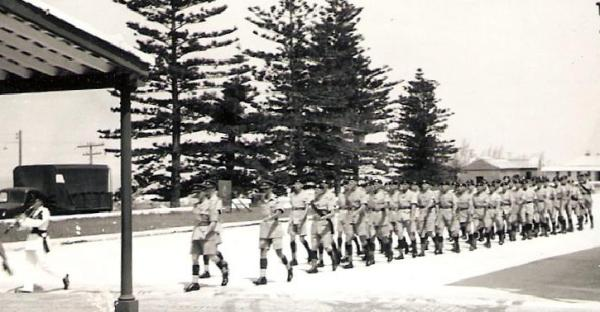 Church Parade circa 1955 Prospect Garrison