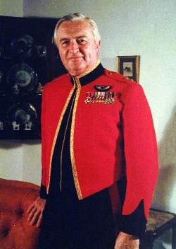 Lt. Col. JA Marsh DSO, OBE. The Bermuda Regiment