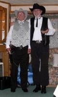 Doc Holliday & Wyatt Twerp at Brean, June 2009