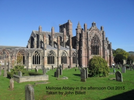 Melrose Abbey by JB Oct 2015